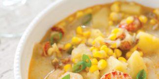Crawfish and Corn Chowder
