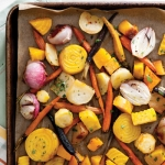 Cajun-Creole Thanksgiving Honey and Citrus Roasted Fall Vegetables