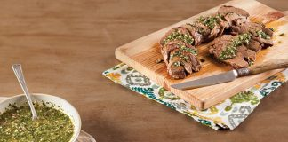 Grilled Venison with-Chimichurri-Recipe