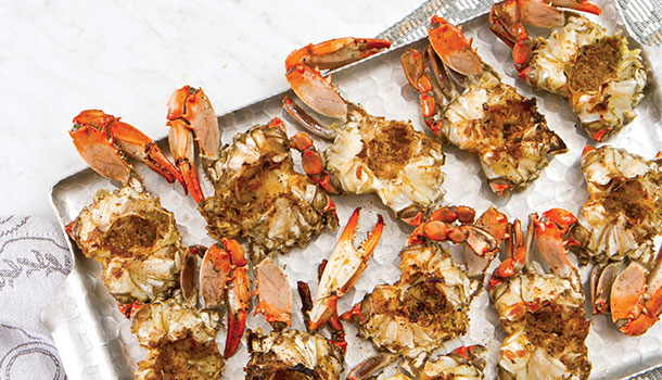 Henry S Barbecued Crabs Louisiana Cookin