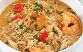 Crab and Shrimp Stew