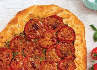 Creole Tomato Galette