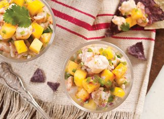 Peach and Shrimp Ceviche Recipe