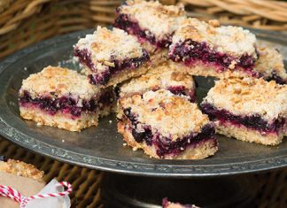 Blueberry Crumb Bars Recipe