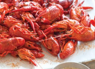 Grilled Crawfish