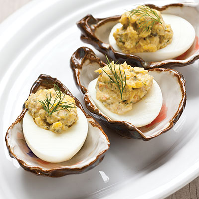 Creole Deviled Eggs
