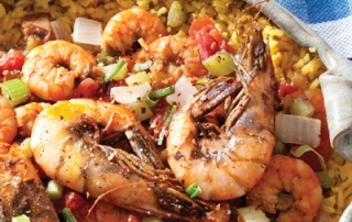 Zydeco Shrimp Etouffee