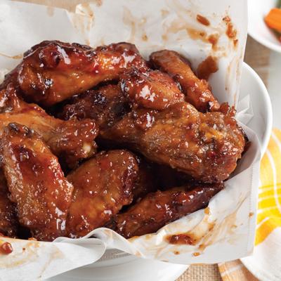 Asian Street Style Fried Chicken WIngs