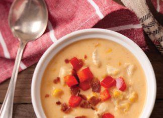 Corn-Bacon-Crab Chowder