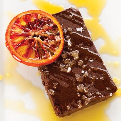 Bittersweet Chocolate Terrine