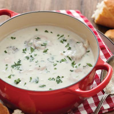 Oyster Stew Recipe — Dishmaps