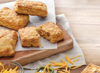 2013 Sweet Rewards Recipe Contest Sweet Potato Bacon Biscuits.