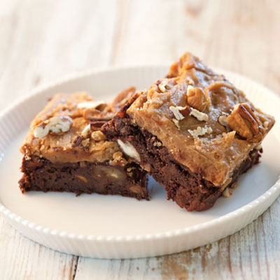 Sweet Potato Praline Brownies