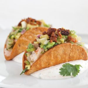 Pickled Shrimp and Tasso Tacos