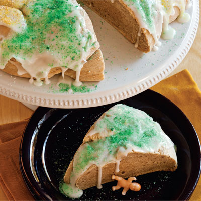 Traditional Mardi Gras King Cake
