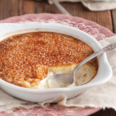Chestnut Creme Brulee Louisiana Cookin