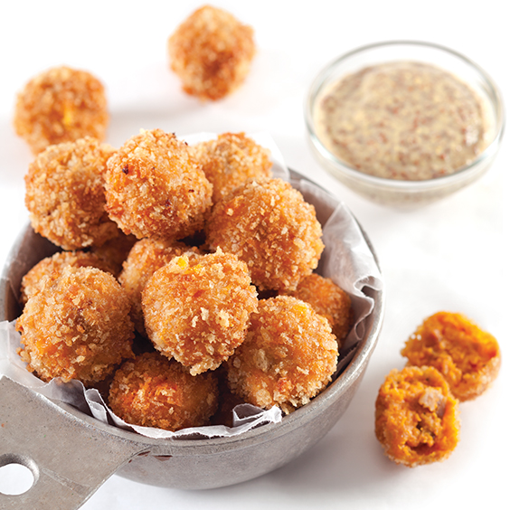 Sweet Potato Cajun Fritters