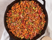B.L.T. Sweet Potato Hash