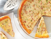 Piquant Sweet Potato Quiche