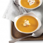 Creamy Smoked Sweet Potato Soup