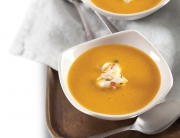 Creamy Smoked Sweet Potato Soup