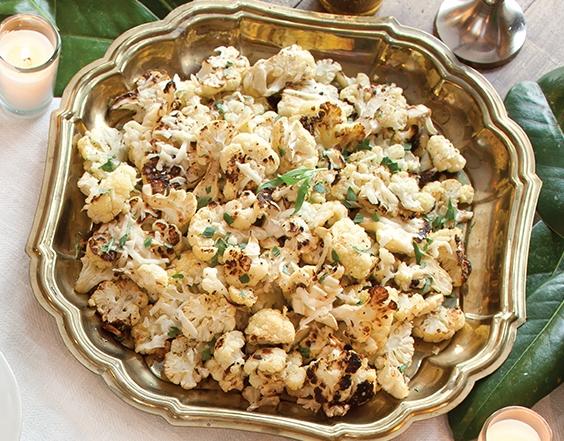 Roasted Cauliflower with Pecorino Romano