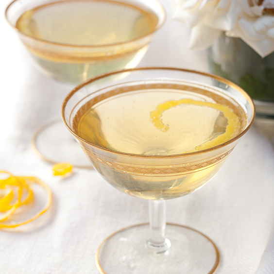 champagne chartreuse cocktail
