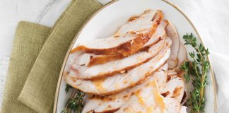 BBQ Butter-Basted Turkey Breast