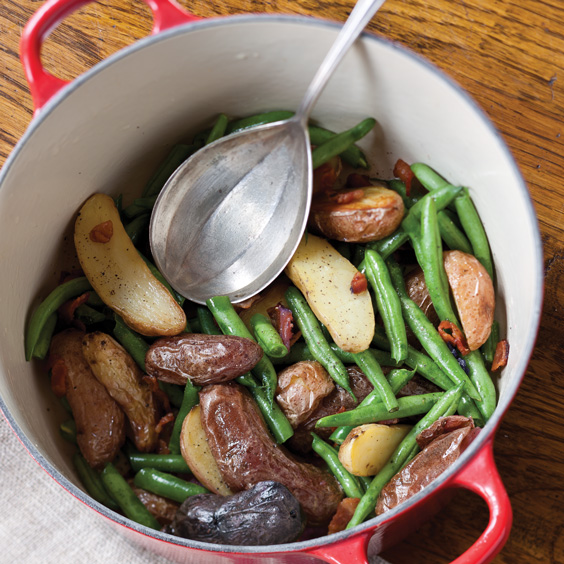 Green Beans and New Potatoes