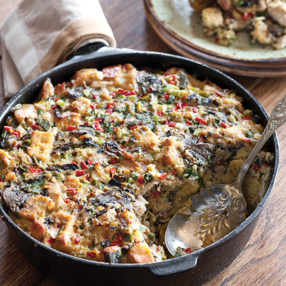 Rabbit and Cornbread Dressing