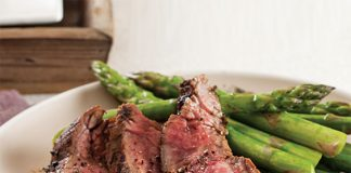 Grilled Flank Steak with Coffee-Dijon Marinade