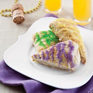 King Cake Scones