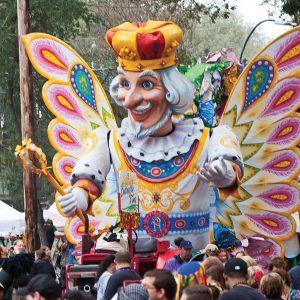 Mardi Gras Krewe of Rex Float
