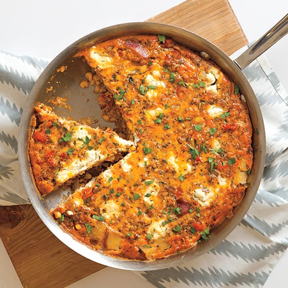 Crawfish Boil Fritatta