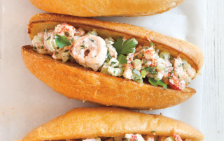 Shrimp Crawfish Roll