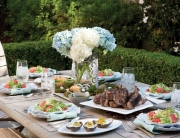 Creole Easter Brunch Table