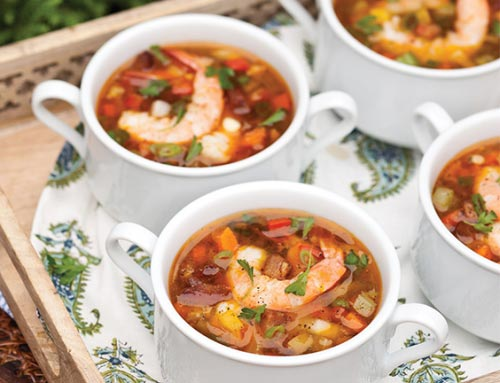 Shrimp and Tasso Soup