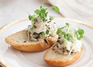 Crab Maison Crostini