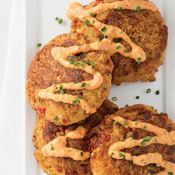 Panko Crab Cakes With Rémoulade - Louisiana Cookin