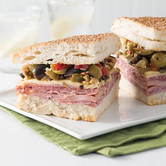 Muffuletta - Louisiana Cookin