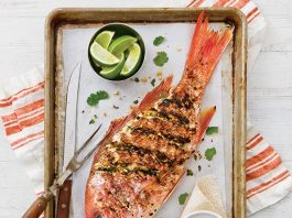 Asian Red Snapper