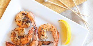 Lemon-Basil Shrimp