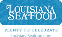 Louisiana Seafood. Plenty to Celebrate. LouisianaSeafood.com