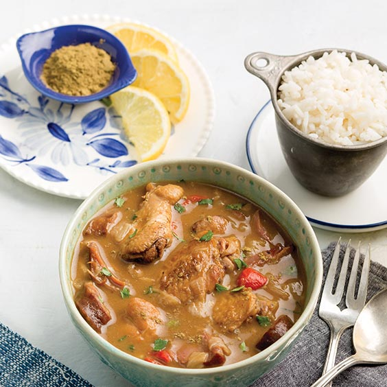Myra's Chicken and Fish Gumbo
