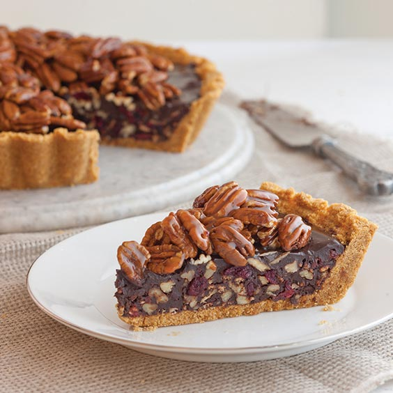 Chocolate Pecan Tart Recipe — Dishmaps