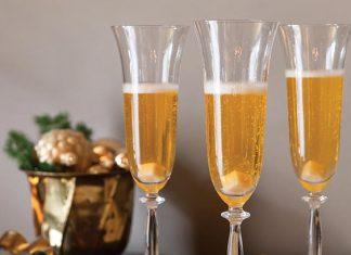 satsuma champagne cocktail