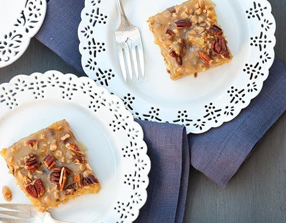 Fresh Winner Spiced Sweet Potato Squares with Brown Sugar Glaze Donna Pochoday-Stelmach, Morristown, New Jersey