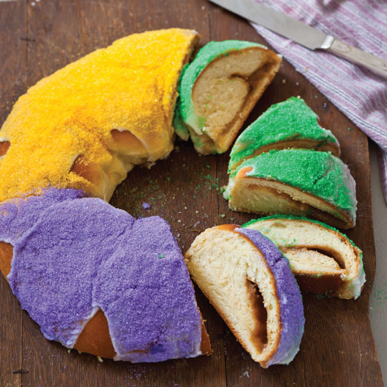 King Cake Recipe With Cream Cheese Filling