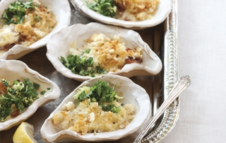 Baked Oysters with Gremolata