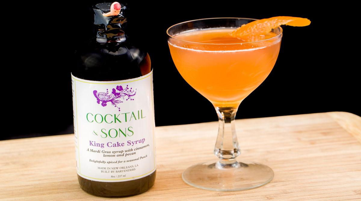 King Cake Cocktails - photo courtesy of Joshua Brasted / joshbrasted.com